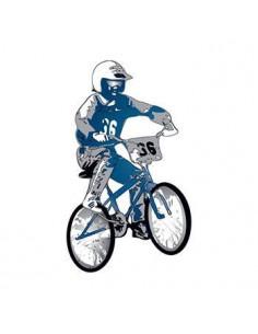 BMX bicykel - nalepovacie...