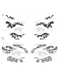 Čipkované masky -...