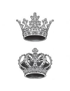 Koruna pre kráľa a kráľovnú...