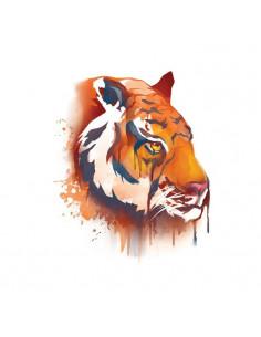 Tiger - watercolor...