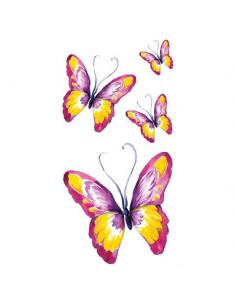 Farebné motýle - veľké...