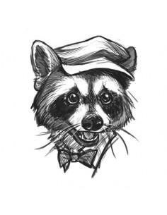 Kreslený medviedik -...