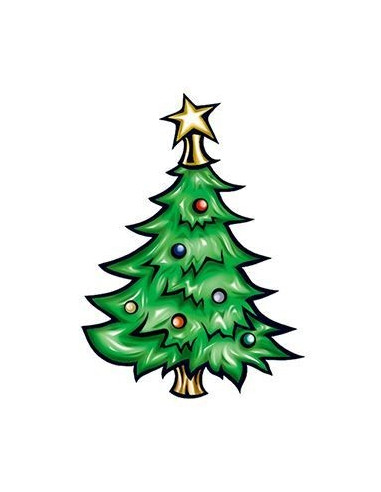 Vianočný stromček - nalepovacie...