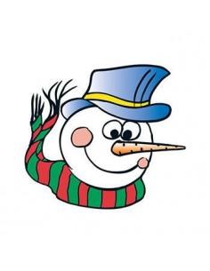 Snehuliak so šálom -...