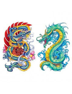 Dvaja čínski draci -...
