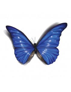 Modrý motýľ s 3D efektom -...