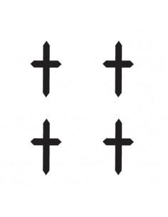 Štyri malé krížiky -...
