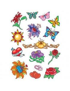 Letné tetovačky - sada 1