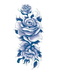 Modré ruže - nalepovací...