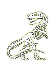 T-Rex svietiaci v tme -...