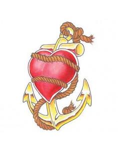 Kotva a zviazané srdce -...