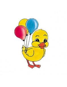 Kačička s balónikmi- detská...