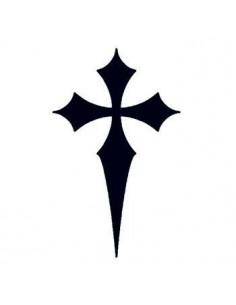 Špicatý čierny kríž -...