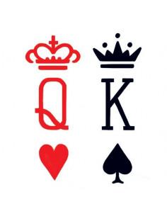 Srdcová kráľovná a pikový...