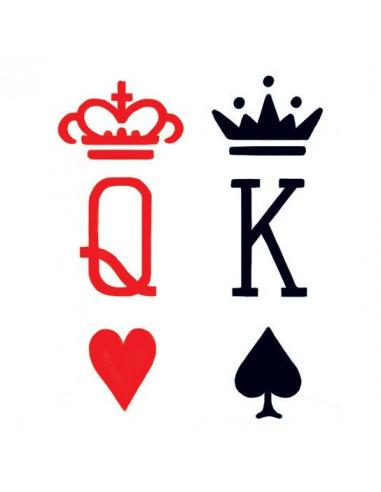 Srdcová kráľovná a pikový kráľ -...