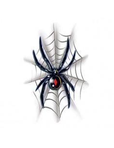 Čierna vdova s pavučinou -...