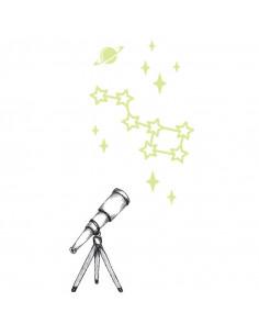 Teleskop s hviezdami...