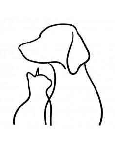 Silueta pes a mačka -...