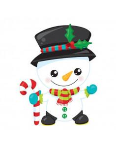 Snehuliak - vianočná...
