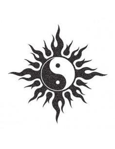 Trblietavý symbol Jin a...