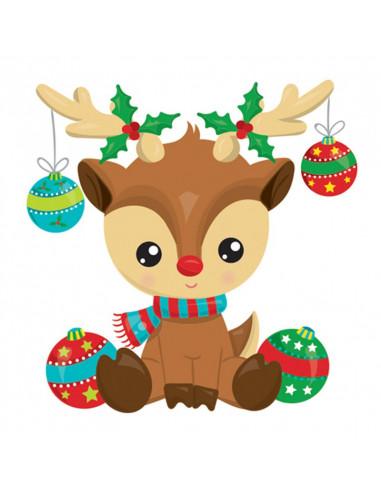 Sob s vianočnými guľami - vianočná...