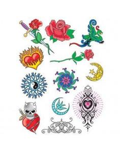 Letné tetovačky - sada 3