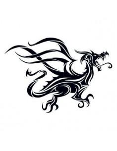 Čierny drak - tribal...