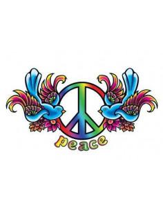 Vtáčiky so symbolom Peace -...