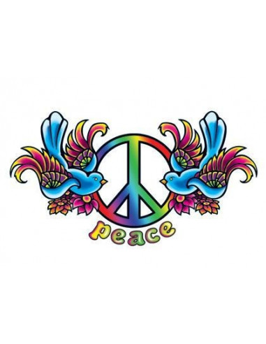 Vtáčiky so symbolom Peace - dočasné...