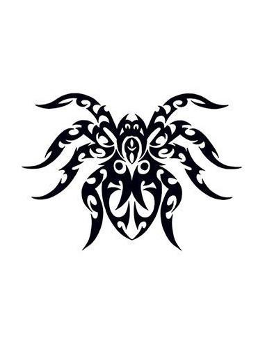 Pavúk - tribal dočasné tetovanie