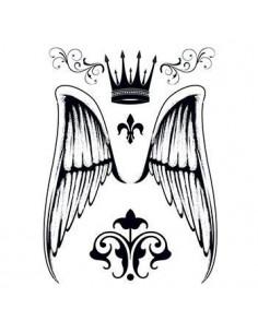 Anjelské krídla, koruna a...