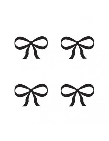 Štyri mašličky - dočasné tetovanie