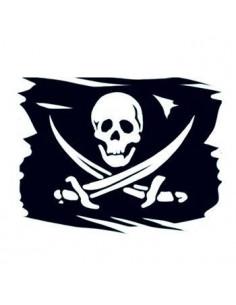 Pirátska vlajka -...