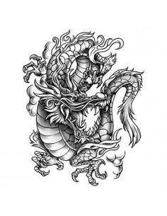 Šedý drak - veľké...