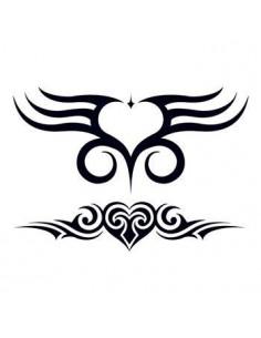 Dve srdcia - tribal...