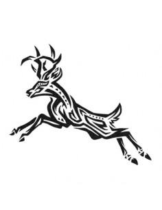 Jeleň - tribal nalepovacie...