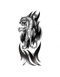Rozzúrený tiger - veľké...