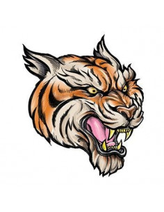 Tiger - nalepovacie tetovanie