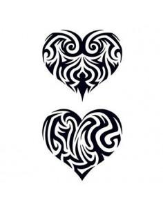 Dve vyrezávané srdcia -...