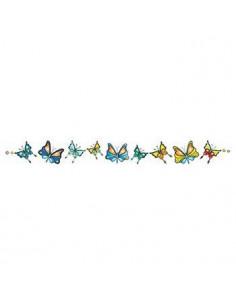 Náramok s motýlikmi -...