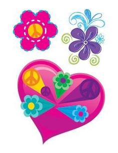 Srdiečko a kvetinky -...