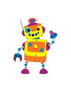 Robot Randy - metalické...