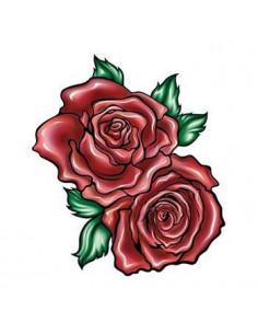 Dve červené ruže -...