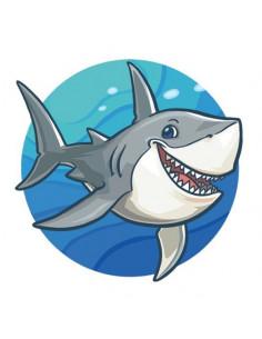 Žralok - nalepovacie tetovanie