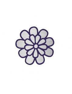 Metalický strieborný kvet -...