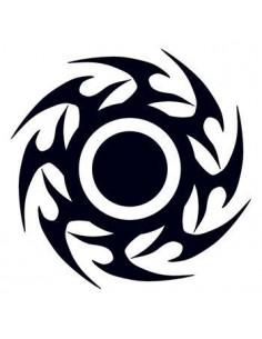 Čierny disk - tribal...