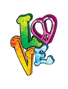 Hippie Love - nalepovacie...