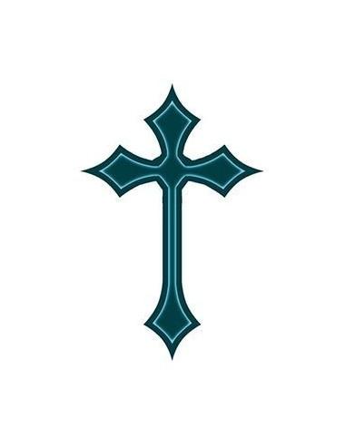 Jednoduchý keltský kríž - nalepovacie...