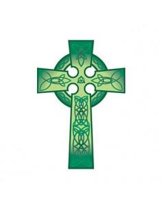Zelený keltský kríž -...