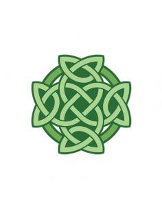 Zelený keltský uzol -...